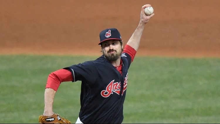 Kluber, Gomes lead Indians past Royals 11-2