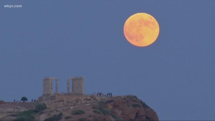 January 2019 Lunar Eclipse The Super Blood Wolf Moon Wkyc Com