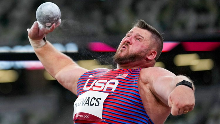 Ohio's Joe Kovacs advances to men's shot put finals in Tokyo Olympics