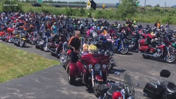 Lake Erie Harley Davidson host annual toy run