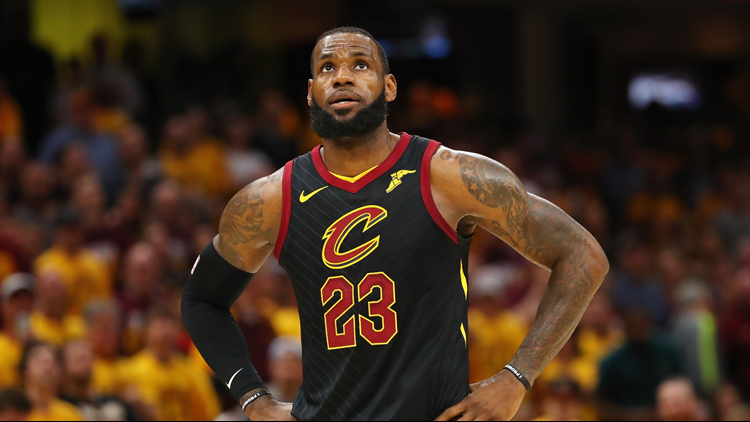 Cleveland Cavaliers' LeBron James now all-time leader in postseason field goals