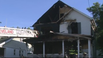 House explodes on Cleveland's east side