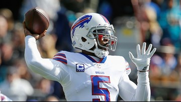 Tyrod Taylor was at a movie when Cleveland Browns selected Baker Mayfield with No. 1 pick