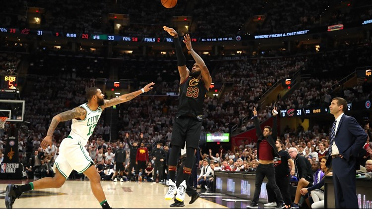 The Cleveland Cavaliers will face the Boston Celtics in Game 7 of the Eastern Conference Finals on Sunday, with the right to play in the NBA Finals on the line.