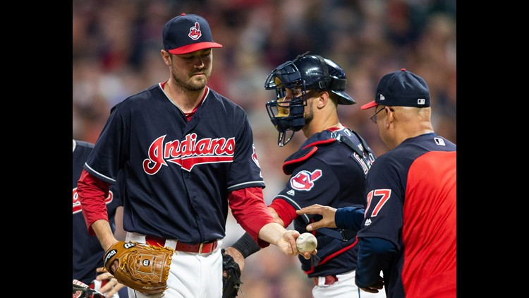 The Cleveland Indians' bullpen allowed 11 runs over the final two innings of an 11-2 loss to the Houston Astros at Progressive Field Friday night.