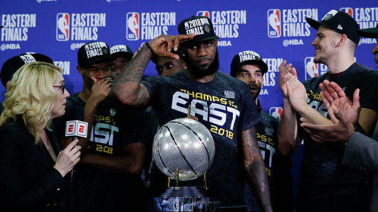 LeBron James Muscled Cleveland Into The NBA Finals Yet Again
