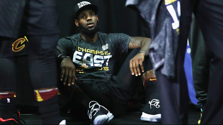 Cavaliers betting long shot against Warriors in NBA Finals