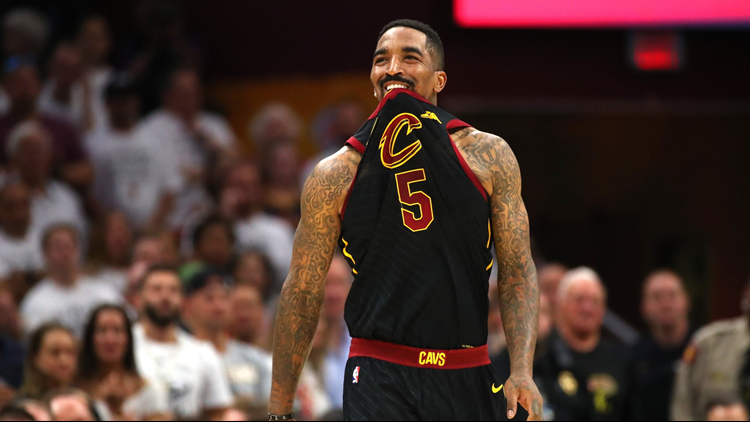 wkyc.com | J.R. Smith loses track of score at crucial moment of Cleveland Cavaliers' NBA Finals ...
