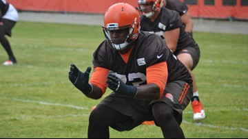 Cleveland Browns trade OL Shon Coleman to San Francisco 49ers for 7th-round draft pick