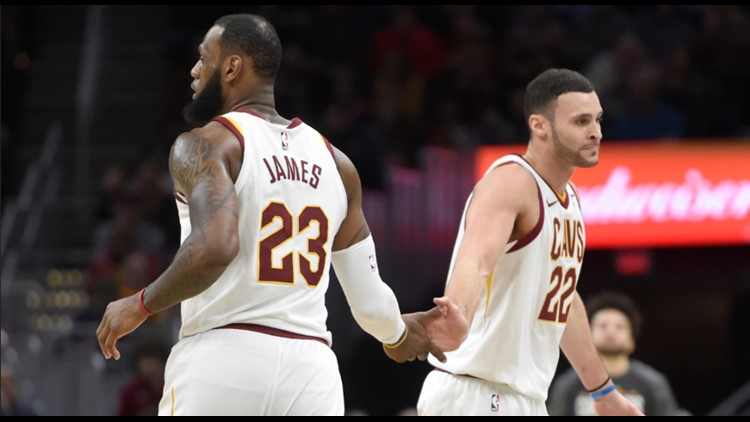 45d98bf9a Larry Nance Jr.  LeBron James much more than great basketball player to Cleveland  Cavaliers