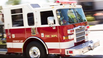 Body found inside burning car in Medina County