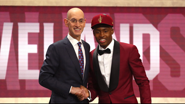 buy popular 5ee20 5c601 Cleveland Cavaliers draft pick Collin Sexton says he'll wear ...
