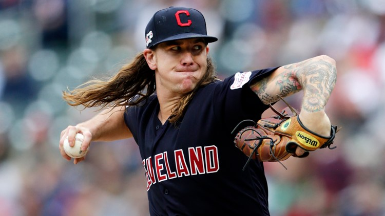 Mike Clevinger Indians Twins Baseball