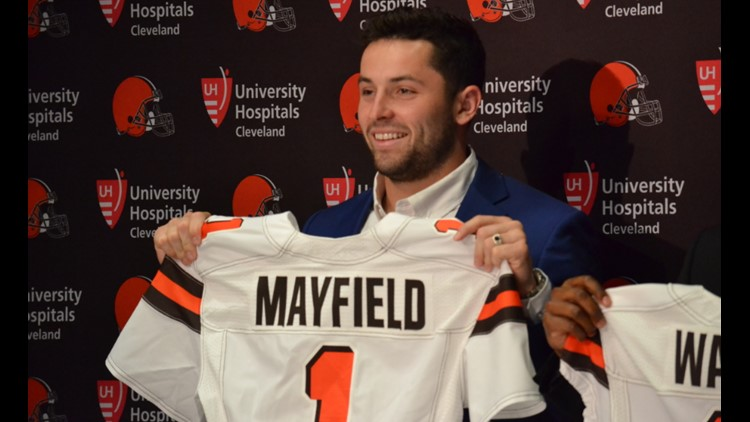 Just two days ahead of the start of training camp for the 2018 season, the Browns reached an agreement with Mayfield, whom they selected with the No. 1 overall pick in the 2018 NFL Draft after his award-winning career at the University of Oklahoma.