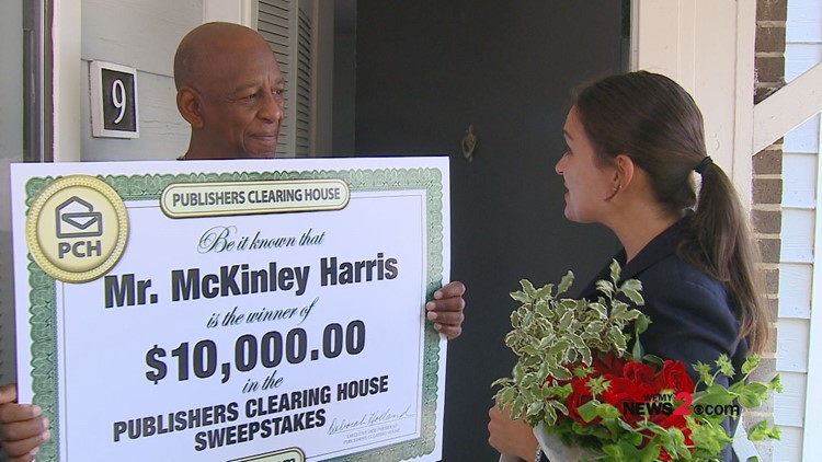 Publishers Clearing House's Prize Patrol surprises military veteran