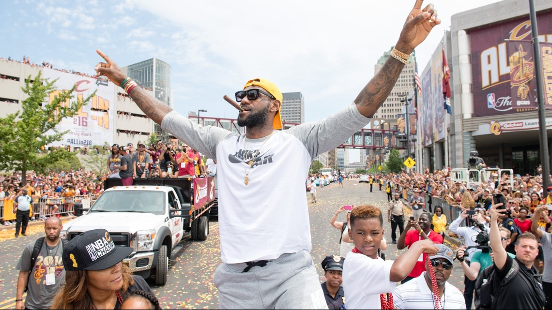 LeBron James thanks Northeast Ohio