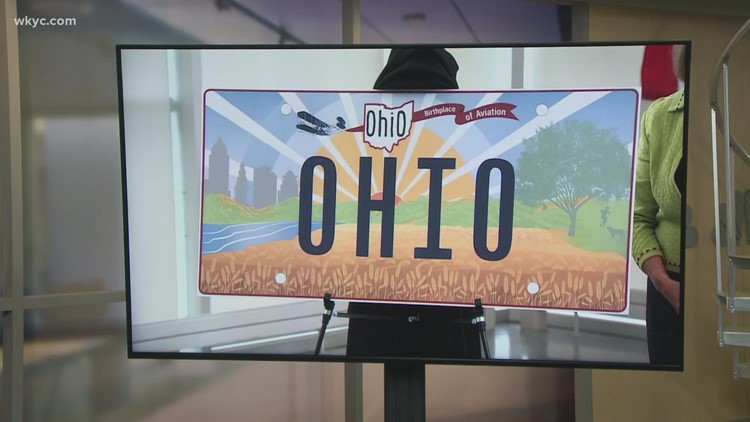 New Ohio License plate unveiled