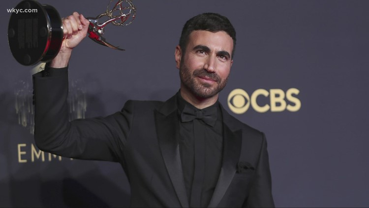 Pop Break: Hollywood's best show up for Emmy Awards