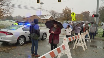 2 juveniles in custody following lockdown at Ravenna High School; no weapons found