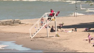 National Weather Service issues Beach Hazard and Special Marine Warning for several lakeshore counties