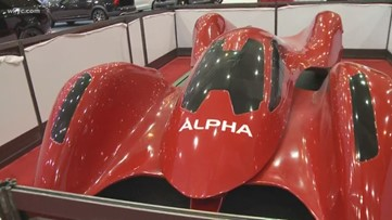 Auto Show Alpha: Exclusive concept car on display at Cleveland Auto Show