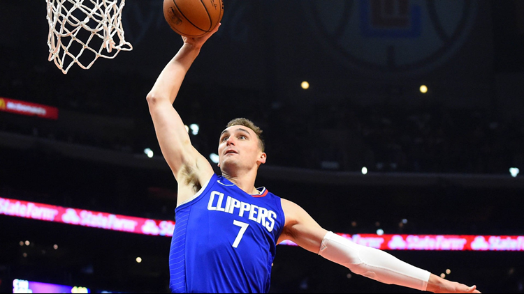 L.A. Clippers trade forward Sam Dekker to Cleveland Cavaliers