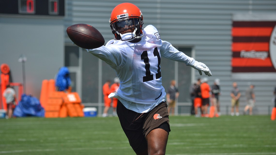 b233423e4 Veteran wide receiver Jandry believes rookie Antonio Callaway can be one of  those players who steps up after Corey Coleman was traded to the Buffalo  Bills ...
