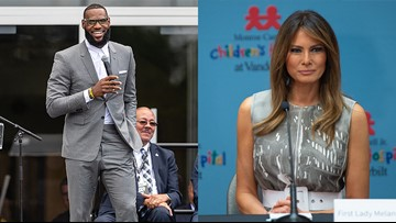 LeBron James' I PROMISE School would welcome visit from First Lady Melania Trump