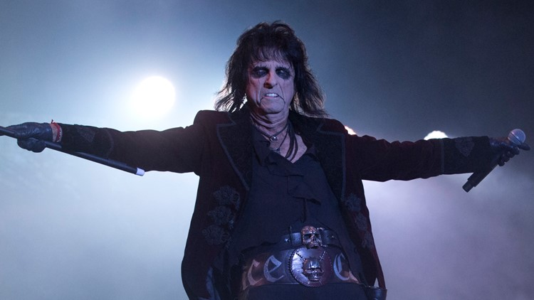 Alice Cooper exhibit now open at the Rock and Roll Hall of Fame