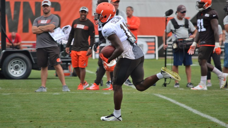 """Despite Antonio Callaway being cited for marijuana possession and driving with a suspended license, Cleveland Browns coach Hue Jackson is """"still confident"""" in the organization's system to help players become better, on and off the field."""