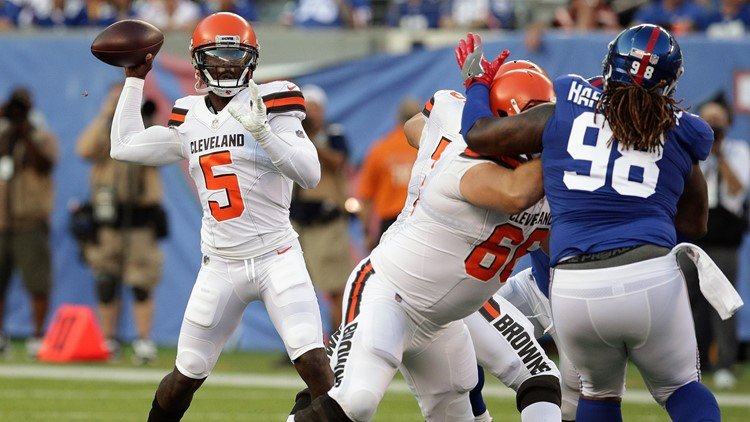 Despite Baker Mayfield's success in the preseason opener against the New York Giants, the Cleveland Browns remain committed to starting Tyrod Taylor at quarterback.
