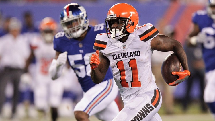 Coach Hue Jackson and the Cleveland Browns punished rookie wide receiver Antonio Callaway by playing him late into the 2018 preseason opener.