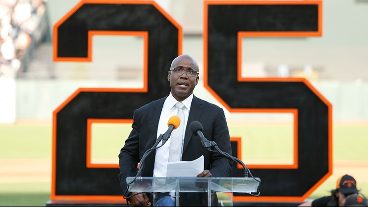 On Sunday, the San Francisco Giants retired Barry Bonds' No. 25 jersey.