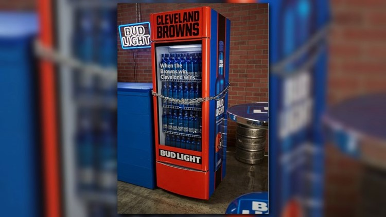 Browns 'Victory Fridge' Offers Free Bud Light On Team's First Win