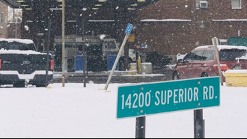Video captures conditions inside Cleveland Heights city garage