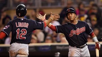 Cleveland Indians SS Francisco Lindor and 3B Jose Ramirez earn American League Silver Slugger Awards