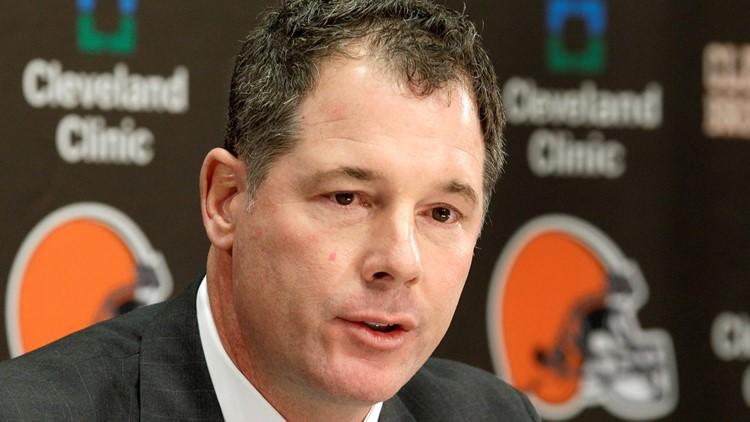 Pat Shurmur Cleveland Browns Football