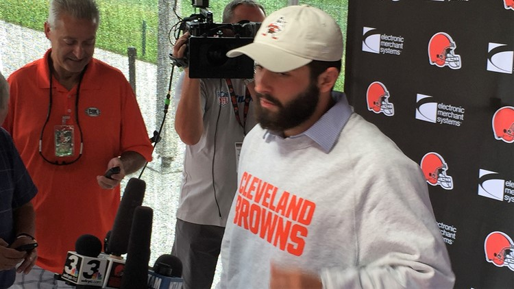 Watch Baker Mayfield Do Hilarious Impression Of Browns GM John Dorsey