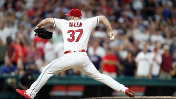 Angels, reliever Allen finalize $8.5M, 1-year contract