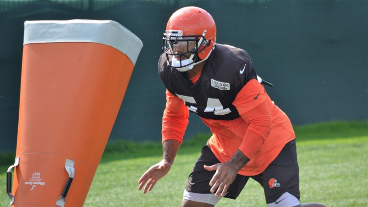 The Cleveland Browns terminated their contract with Mychal Kendricks, Wednesday evening.