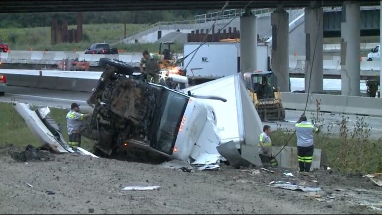 I-271 South at I-480 reopens after semi crash | wkyc com