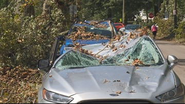 Microburst leaves Cleveland Heights residents in the dark for days