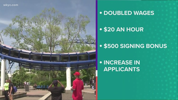 Cedar Point increases pay to $20 per hour for employees