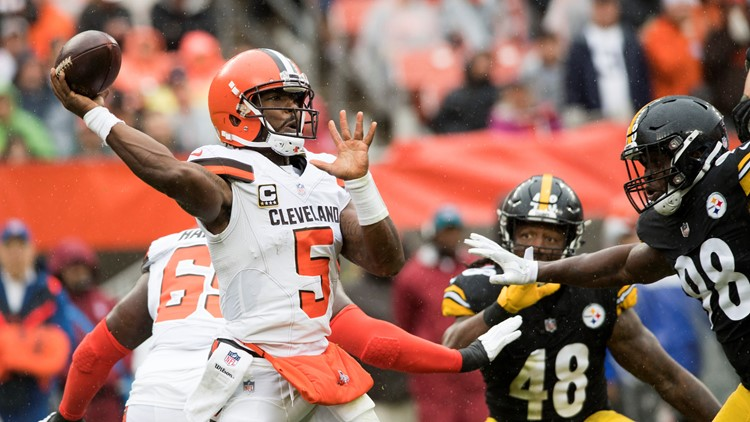 Tyrod Taylor was up and down in his Cleveland debut