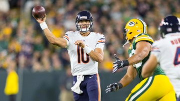 Mentor's Mitchell Trubisky accounts for 203 yards, one score in Chicago Bears' loss at Green Bay
