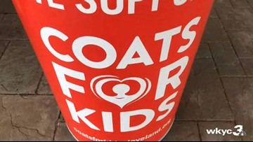WTAM 1100 holds annual 'Coats for Kids' drive