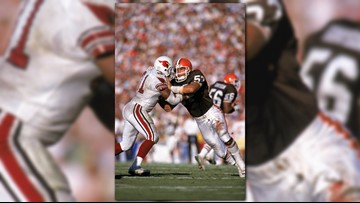 low priced b839a dd227 Former Cleveland Browns Clay Matthews, Eric Metcalf among ...