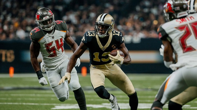 Former Ohio State Buckeyes wide receiver Michael Thomas continues to shine for the New Orleans Saints.