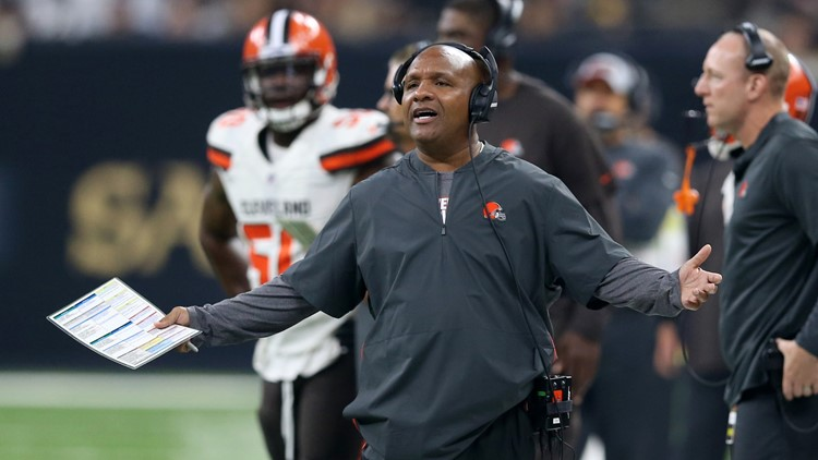 Hue Jackson to ESPN's First Take: We didn't win enough games