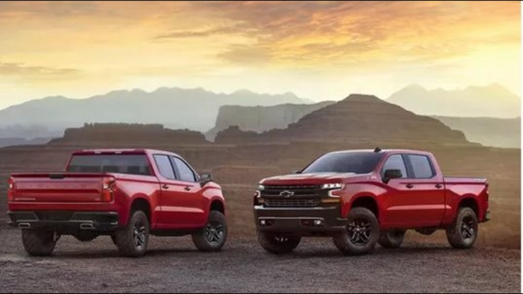 chevrolet truck year models